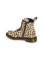 Dr. Martens 1460 Pascal Leopard Print Boot (Toddler, Little Kid & Big Kid)