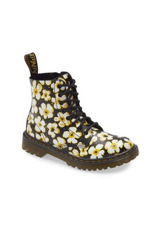 Dr. Martens 1460 Pascal Pansy Print Boot (Walker, Toddler, Little Kid & Big Kid)