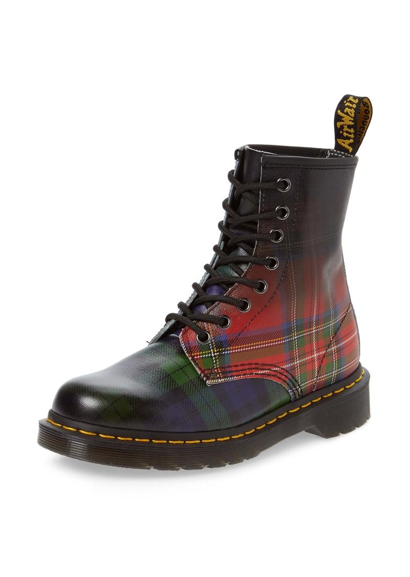 Dr. Martens 1460 Tartan Plaid Boot (Women)