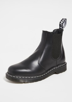 Dr. Martens 2976 White Stitch Chelsea Boots