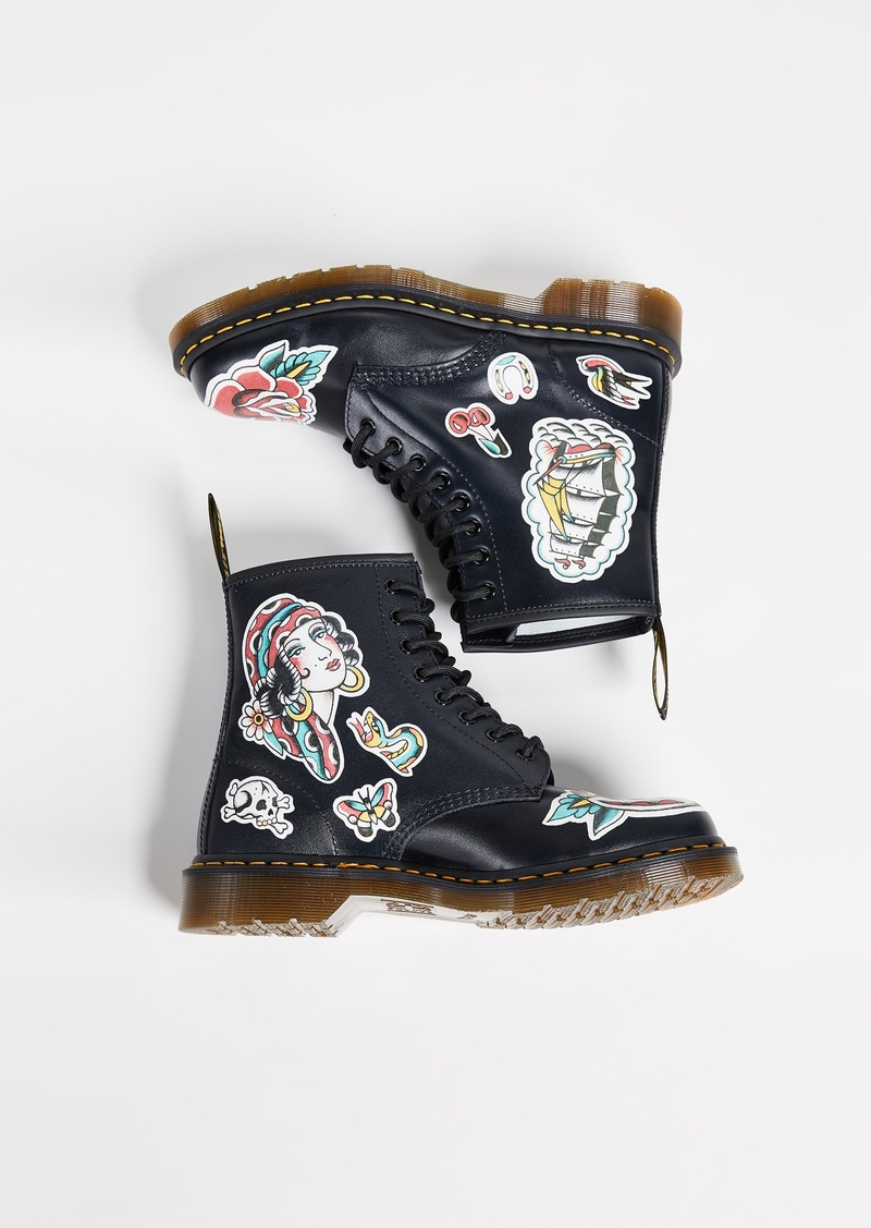 Chris Lambert Tattoo 1460 8 Eye Boots