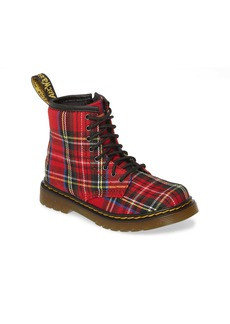 Dr. Martens Junior Tartan Boot (Toddler & Little Kid)