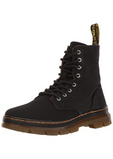 Dr. Martens Men's Combs Combat Boot  4 UK/5 M US