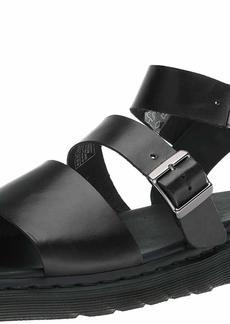 Dr. Martens Gryphon Gladiator Sandal black 9 B(M) US Women/8 D(M) US Men