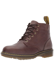 Dr. Martens Men's Horton Fashion Boot Chocolate Dark Brown Vancouver Synthetic+BARILOCHE 13 Medium UK ( US)