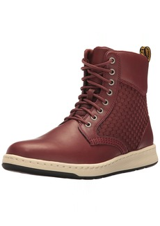 Dr. Martens Men's Rigal Wv Combat Boot Dark Oxblood 10 UK/ M US