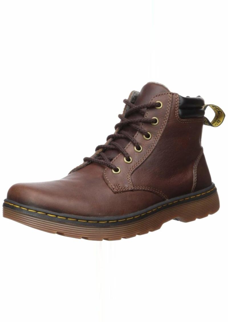 Dr. Martens Men's Tipton Chukka Boot Dark Brown+Black 11 M UK ( US)