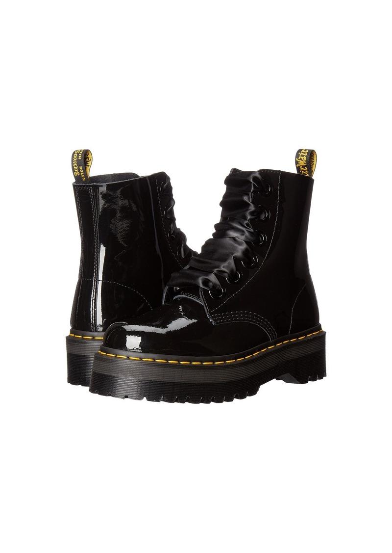 Dr Martens Women/'s Molly Glitter Lace Up Platform Lolita Boot Black
