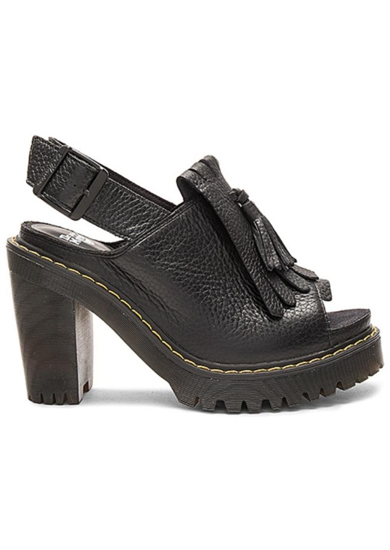 fc854eb3744 Dr. Martens Seraphina Slingback Kiltie Sandal in Black. - size 6 (also in