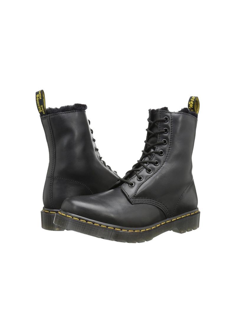 Dr Martens Serena 8 Eye Boots Brown   Dr martens boots