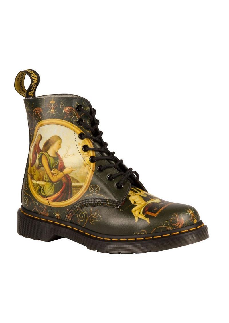 dr martens dr martens serena leather boots shoes. Black Bedroom Furniture Sets. Home Design Ideas