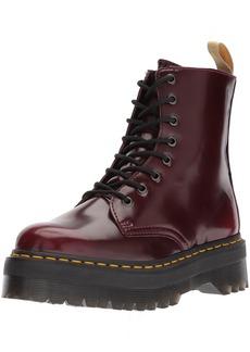 Dr. Martens Dr Martens Unisex Jadon Vegan Cherry Red Quad Cambridge Brush Boots