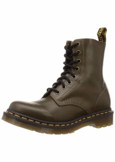 Dr. Martens Women's 1460 Pascal Wanama Combat Boot DMS Olive