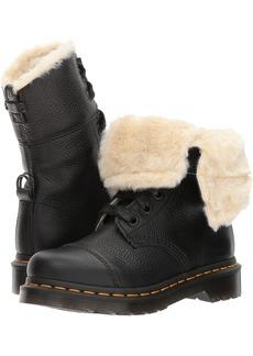 Dr. Martens Women's Aimilita FL Ankle Boot Black 8 Medium UK ( US)