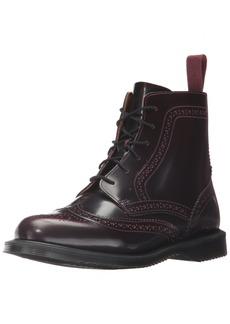 Dr. Martens Women's Delphine Red Arcadia Ankle Boot Cherry 7 Medium UK ( US)