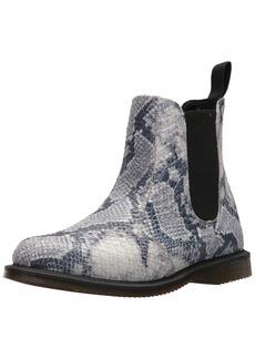 Dr. Martens Women's Flora Snake Fashion Boot  9 Medium UK ( US)