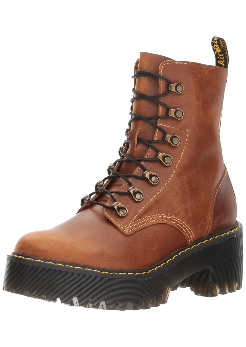 Dr. Martens Women's Leona Orleans Fashion Boot  8 Medium UK ( US)
