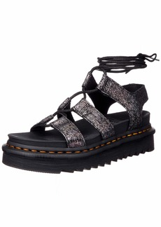 Dr. Martens womens Gladiator With Ankle-tie Sandal   US