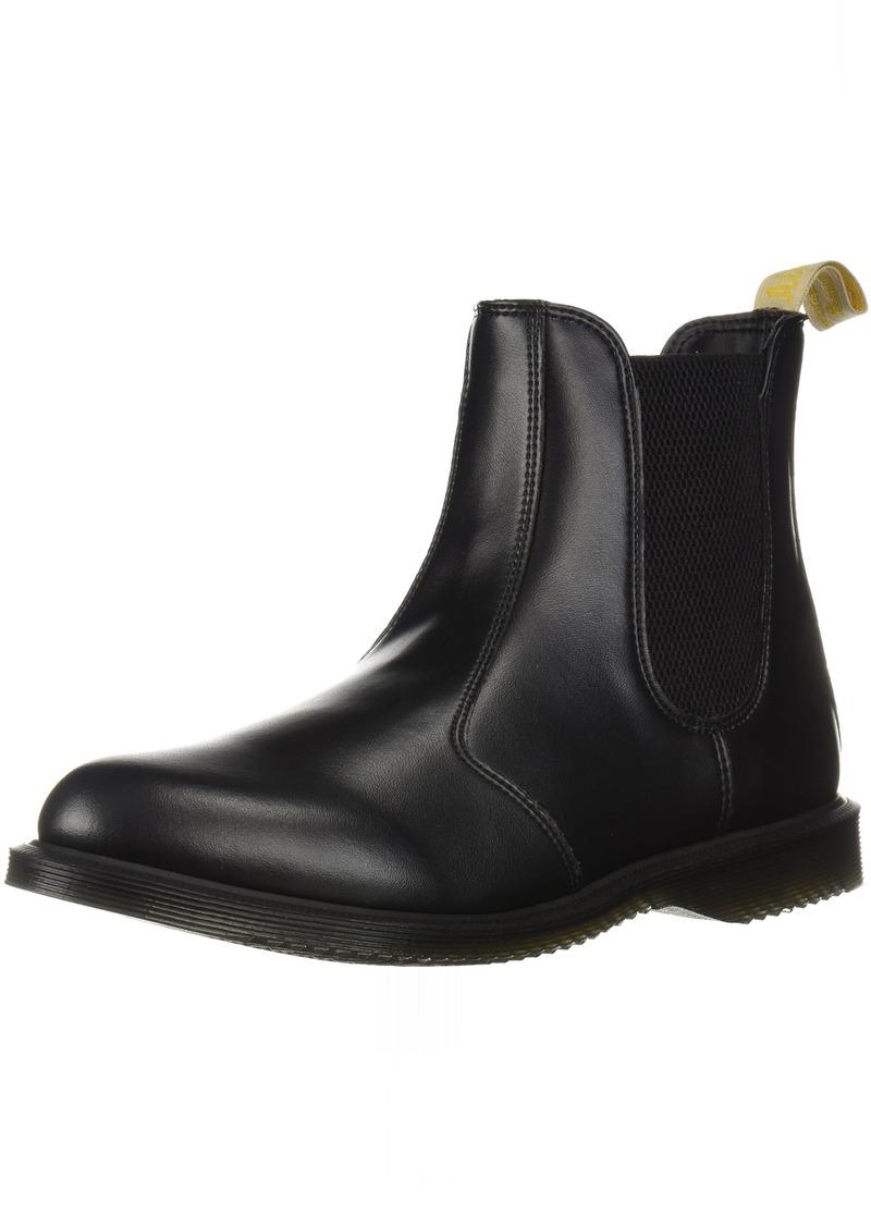 Dr. Martens Women's Vegan Flora Chelsea Ankle Boot  7 Medium UK ( US)