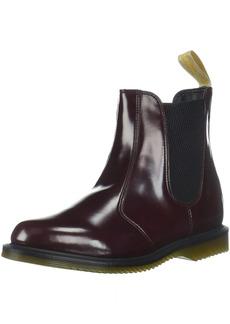Dr. Martens Women's Vegan Flora Chelsea Ankle Boot  6 Medium UK ( US)