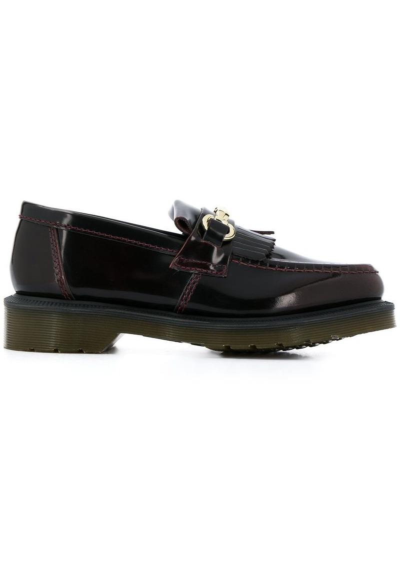 Dr. Martens fringed appliqué loafers