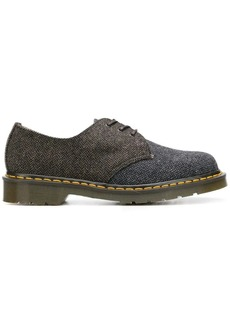 Dr. Martens herringbone pattern lace-up shoes