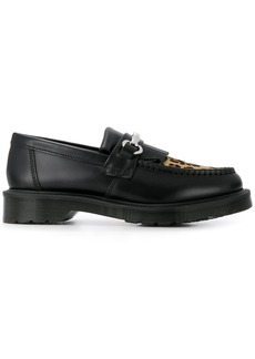 Dr. Martens leopard toe loafers