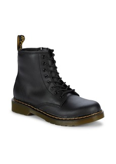 Dr. Martens Little Kid's & Kid's 1460 J Black Softy Leather Boots