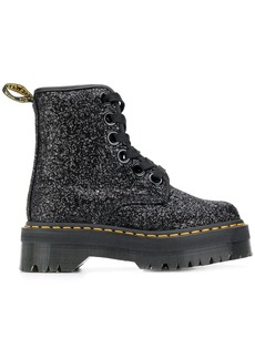 Dr. Martens Molly glitter boots