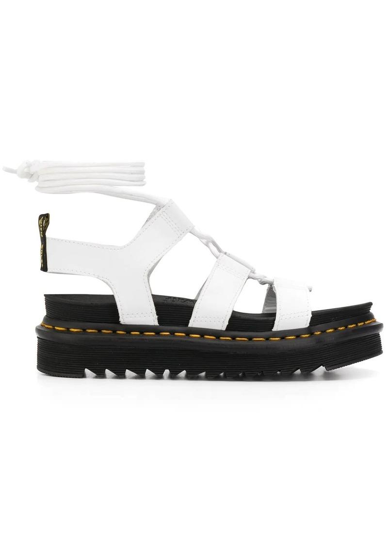 Dr. Martens Nartilla Hydro wrap-around platform sandals
