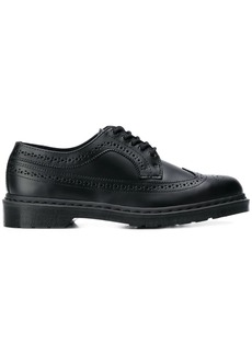 Dr. Martens perforated derby shoes