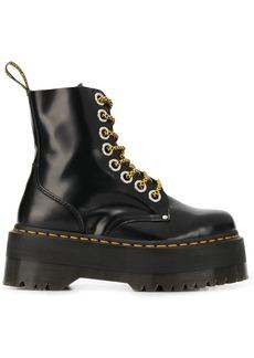 Dr. Martens platform lace-up boots