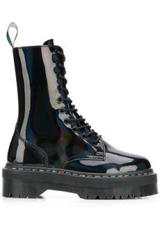 Dr. Martens platform sole ankle boots