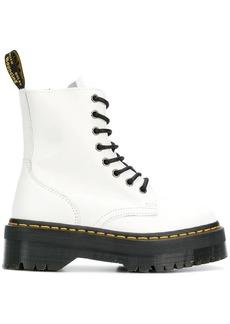 Dr. Martens ridged platform boots