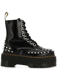 Dr. Martens stud-embellished platform boots