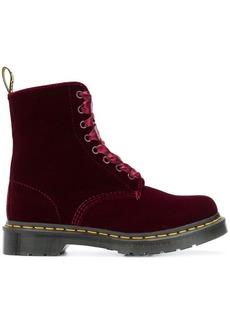 Dr. Martens velvet ankle boots