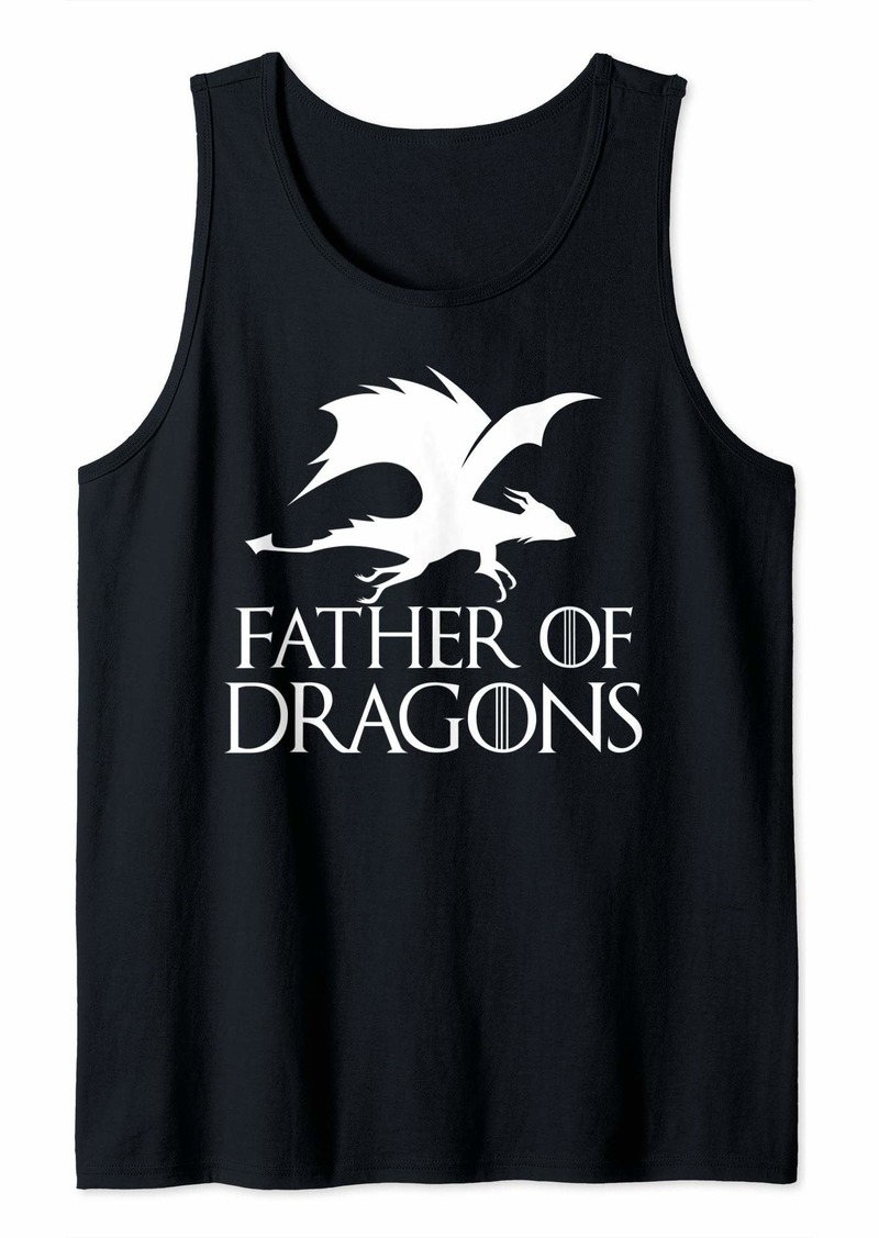 Father of Dragons - Father's Day Gift Tank Top