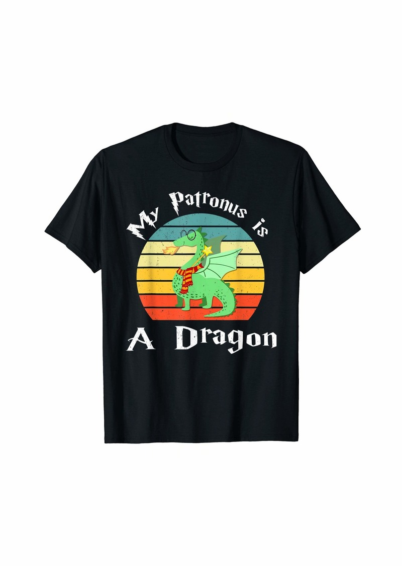 My Patronus Is a Dragon Vintage T-Shirt