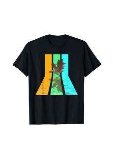 Retro 80s Vintage Style Dragon T-Shirt