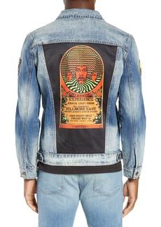 Dragonfly Clothing Psychedelic Denim Jacket
