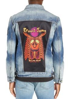 Dragonfly Clothing Tiki Torch Denim Jacket