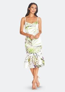 Dress the Population Alea Dress - Chartreuse Mlti - S - Also in: XXL, XS, XXS, XL, L, M