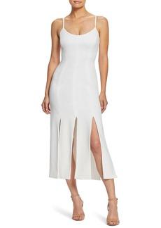 Dress the Population Devon Slit Hem Midi Dress