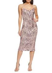 Dress the Population Alexa Sequin Cocktail Dress