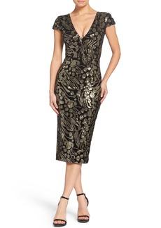 Dress the Population Allison Embellished Sheath
