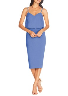 Dress the Population Alondra Blouson Sheath Dress