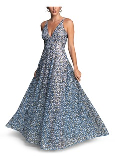 Dress the Population Ariyah Sequin Embroidered Ballgown