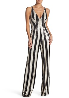 Dress the Population Bobbie Sequin Jumpsuit