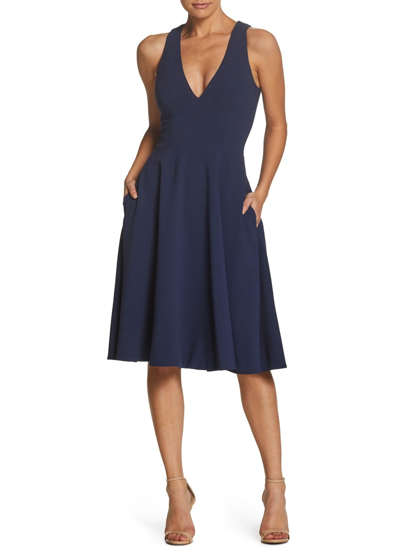 c9763456d7cd SALE! Dress the Population Dress the Population Catalina Tea Length ...
