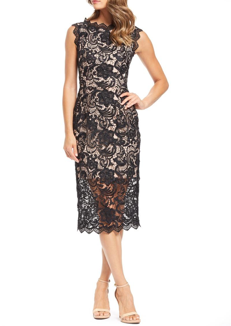 dd5147082369 Dress the Population Dress the Population Claudette Crochet Lace ...